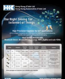 HK Crystal - High Precision Crystals for IoT Applications
