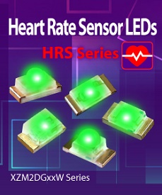 SunLED Releases Heart Rate Sensor LEDs for mobile and medical applications