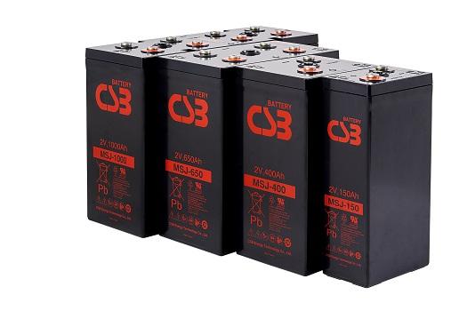 MSJ - Single Cell Design - Long Life Battery