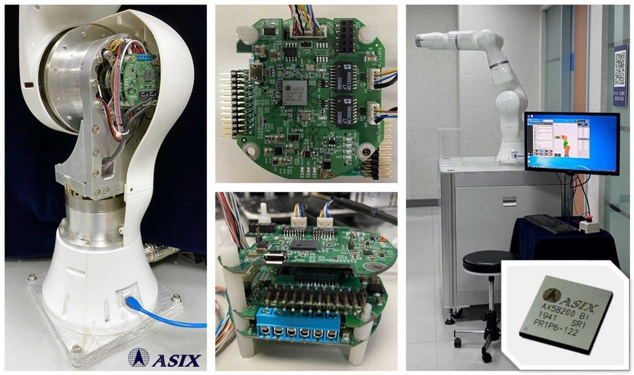 Asix launches AxRobot EtherCAT 7-Axis Force-Feedback Control Robot Solution