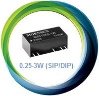 DC-DC 0.25-3W (SIP/DIP)