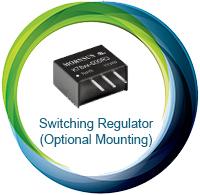 Switching Regulators Optional Mounting