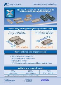 The new X-Series with 7th Generation IGBT and innovative package technologies