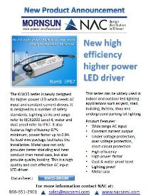 Mornsun High Efficient & High Power LED Drivers