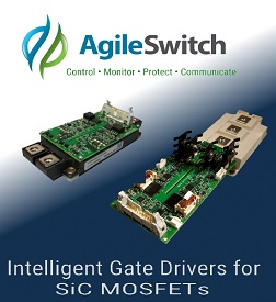 AgileSwitch Releases Intelligent Gate Drivers for SiC MOSFETs