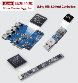 Etron Living USB 2.0 & 3.0 Host Controllers