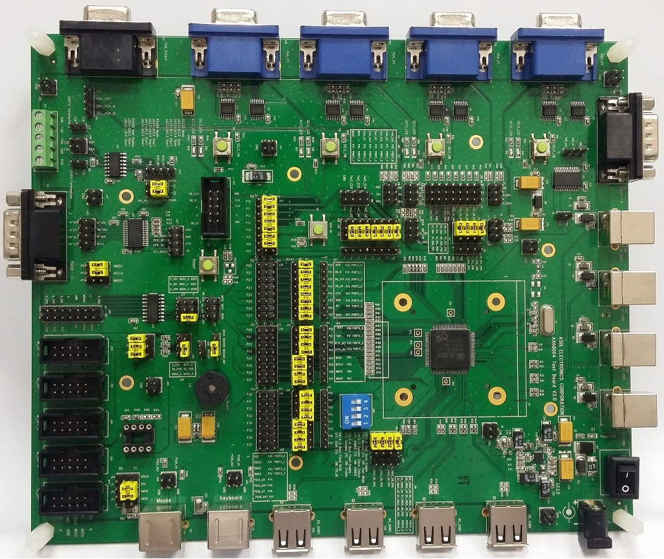 AX68004 DEMO BOARD | ASIX