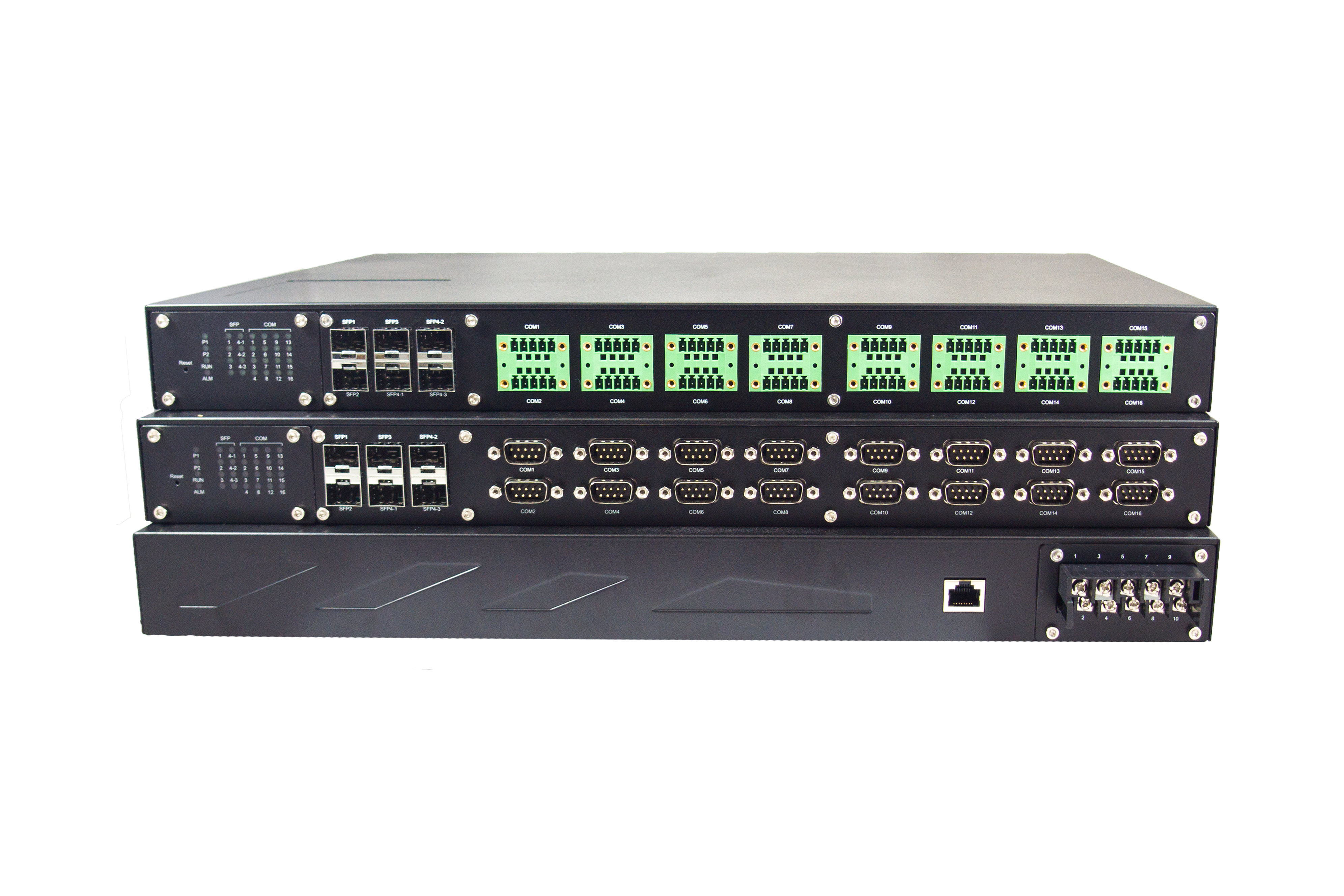 8-Port IEC61850-3 Certified Industrial Rack-Mounted Secure Serial Device Server Remotely monitor, manage, and control industrial field devices